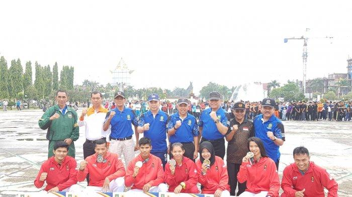 Atlet Riau Peraih Medali Asian Games Bersukur dan Terharu Atas Apresiasi Pemprov Riau