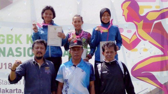 10 Medali Sudah DIkumpulkan Riau hingga Hari ke-4 Kejurnas Atletik 2018