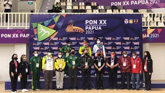 Riau Peringkat 7 Besar Perolehan Sementara Medali PON Papua, Ini Total Medali Hingga Senin Malam