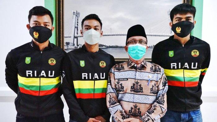 Bikin Bangga, Abang Beradik Atlet Sepatu Roda Asal Siak Perkuat Kontingen Riau di PON XX Papua