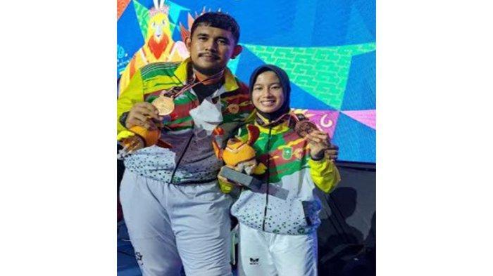 Lagi, Riau Tambah 2 Perunggu di PON XX Papua dari Cabor Taekwondo