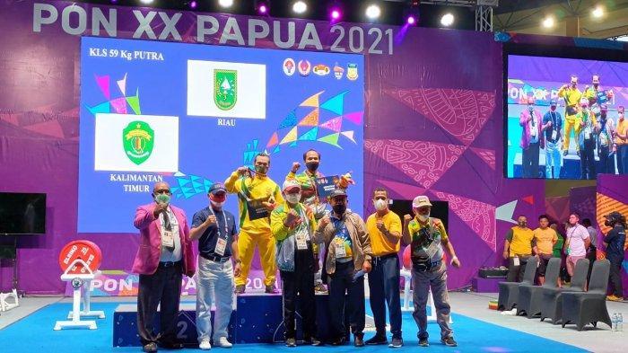 Riau Naik ke Posisi 6 Besar di PON Papua, Tambahan 2 Emas dari Renang dan Angkat Barat