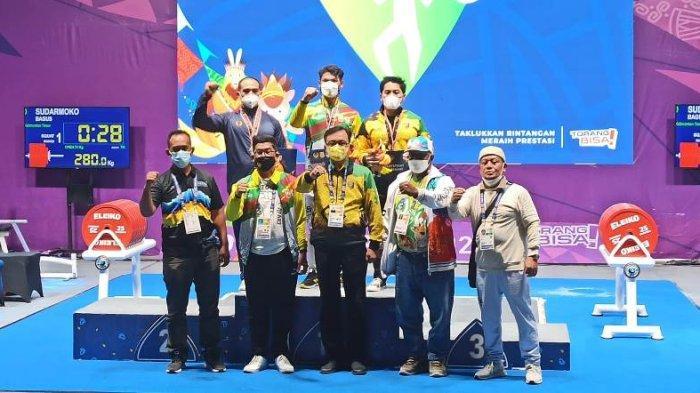 Riau Tambah 1 Emas 2 Perak dan 1 Perunggu, Posisi 8 Klasemen Sementara Perolehan Medali PON Papua