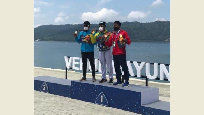 Atlet Dayung Maizir Sumbang Emas Pertama untuk Riau di PON Papua
