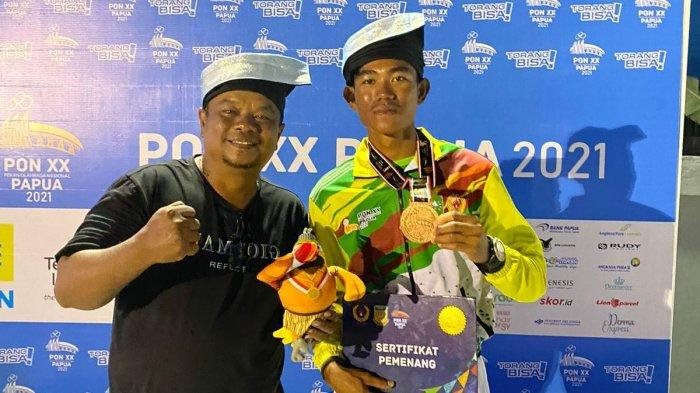 Atlet Layar Riau Muhammad Selamat Raih Perunggu di PON Papua