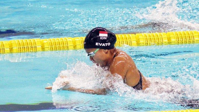 Atlet Renang Riau Vanesaae Evato Tambah 1 Emas di 100 meter Gaya Dada PON Papua