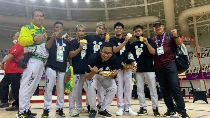 M Tri Saputra Atlet Senam Riau Raih Emas PON Papua, Persembahkan untuk Masyarakat Riau dan Keluarga