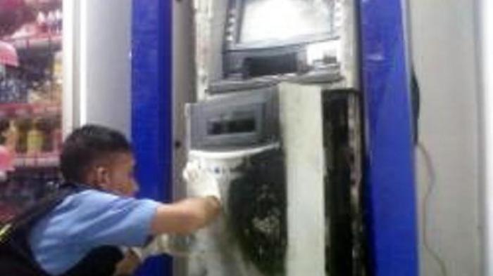Mesin ATM di Supermarket di Agam Sumbar Dibobol dengan Las, Uang Rp 350 Juta Raib