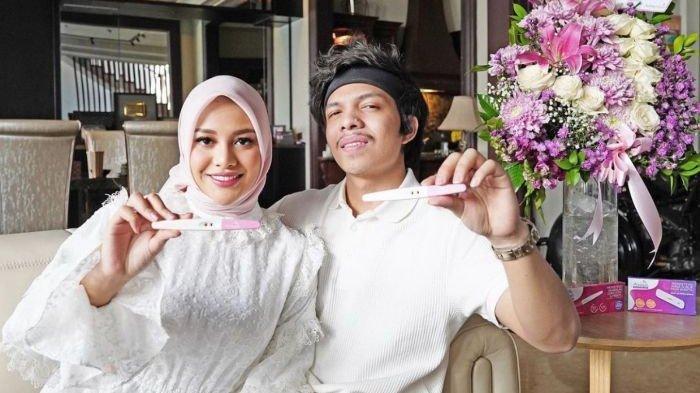 Kabar kehamilan Aurel Hermansyah yang diumumkan youtuber Atta Halilintar.