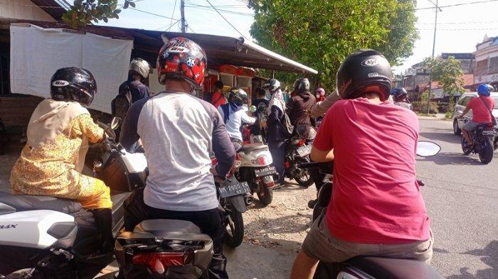 Awal Puasa Masyarakat Pulau Bengkalis Mengeluh Sulit Temukan Minyak Premium dan Pertalite