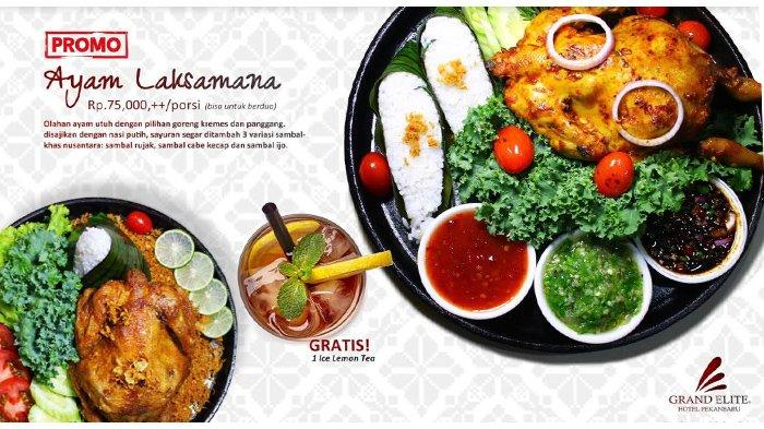 Food Promo di Pepito Restaurant, Ayam Laksamana