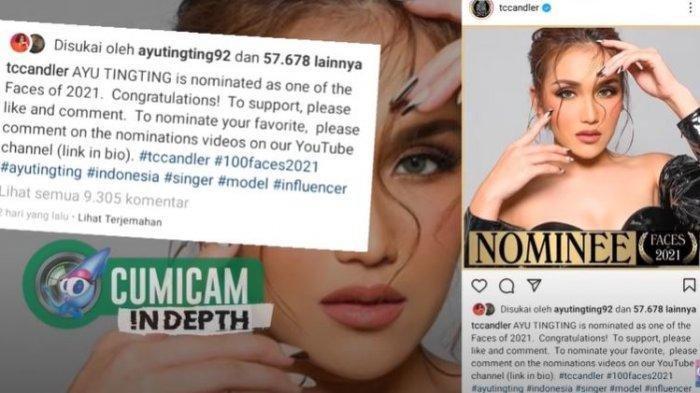 Luar Biasa, Masuk Nominasi Wanita Tercantik di Dunia, Ayu Ting Ting Saingi Member BLACKPINK, Waw