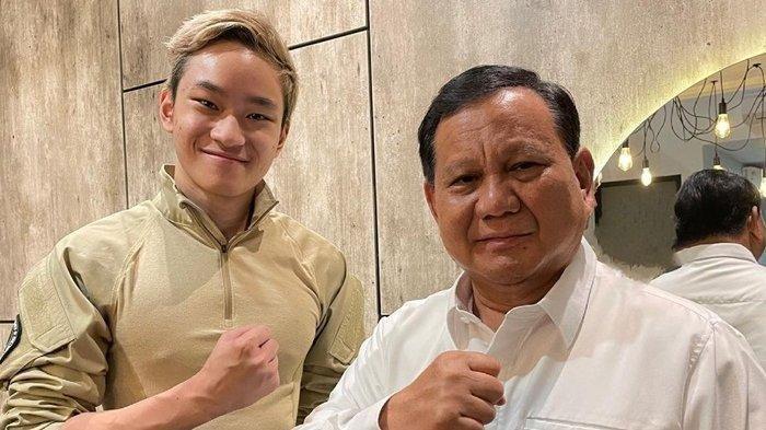 Jumpa Prabowo, Azka Corbuzier Mengaku Ditawari Masuk Akademi Militer