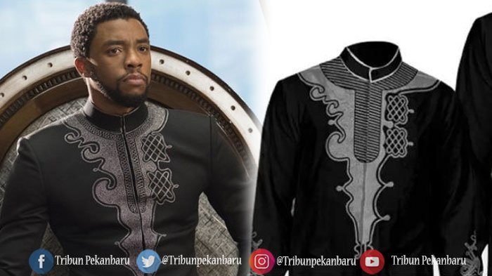 Baju Koko Black Panther Laku Keras Jelang Idul Fitri, Begini Penampakannya