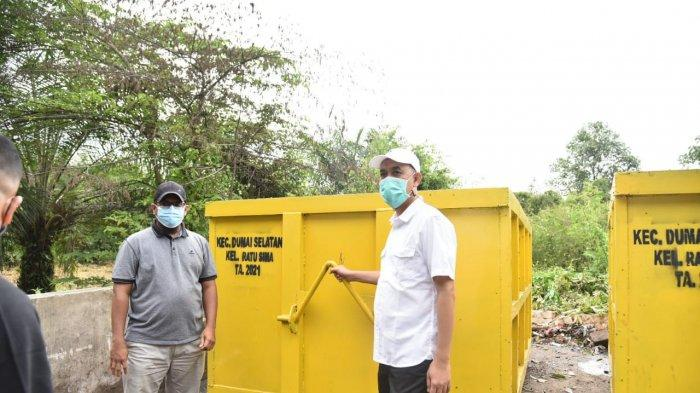 Jangan Dilempar Lagi, Buang di Bak Sampah, Wali Kota Dumai Soroti Warga Sembarangan Buang Sampah