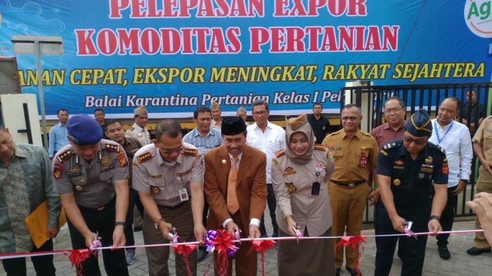 Dukung Hasil Petani di Riau, Badan Karantina Pertanian Lepas Komoditi Ekspor