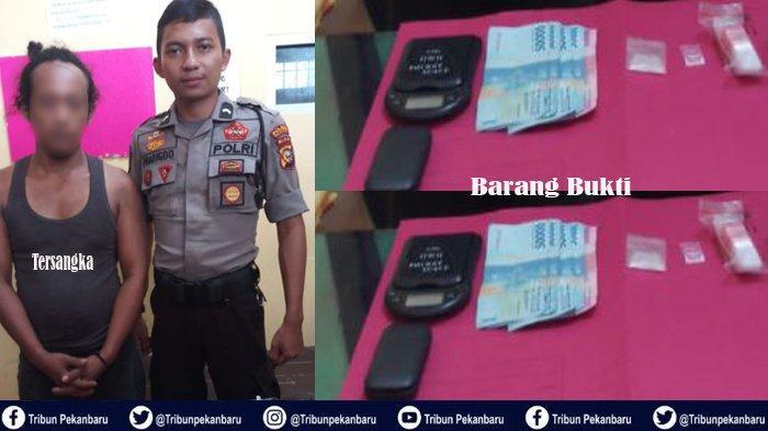 Bandar dan PENGEDAR Sabu-sabu di Riau Ditangkap Polisi, Si Bandar Teriaki Polisi RAMPOK dan Kabur