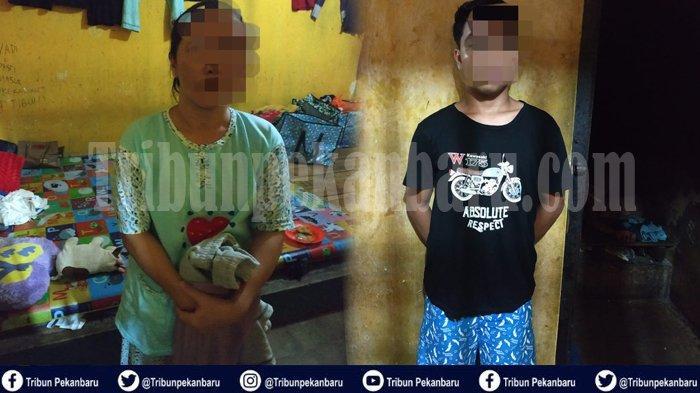 BANDAR Sabu-sabu di Kampar Riau Teriaki Polisi RAMPOK Saat Ditangkap, Dihalangi Anak Gadis dan Istri