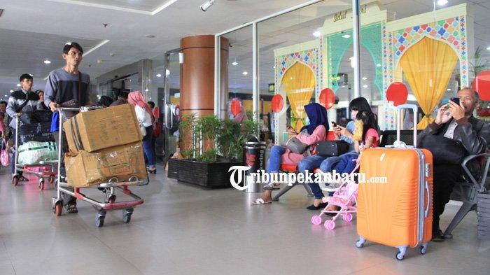 Arus Mudik dan Balik di Bandara SSK II Pekanbaru Capai 245.371 Penumpang