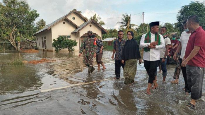 100 Rumah Diperkirakan Terdampak, Dua Desa di Bunut Pelalawan Riau Diterjang Banjir