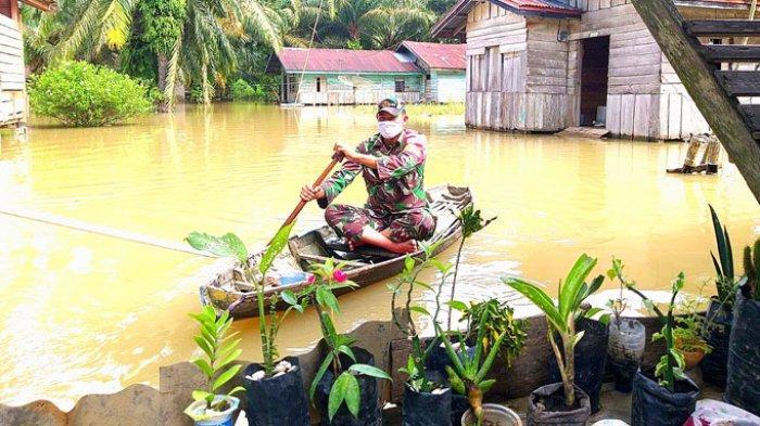 Dua Kabupaten di Riau, Rokan Hulu dan Indragiri Hilir Kini Berstatus Siaga Banjir