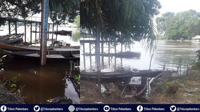 Dua Desa di Pelalawan Riau Masih Tergenang Banjir, Posko Kesehatan Tetap Aktif Layani Korban Banjir