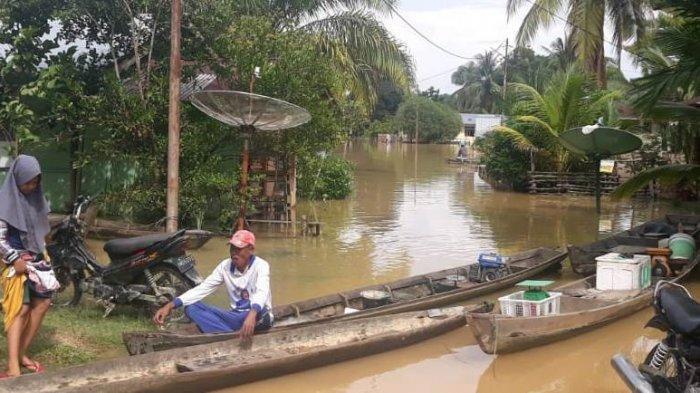 Banjir di Riau, Jumlah Desa di Kampar yang Terdampak Terus Bertambah