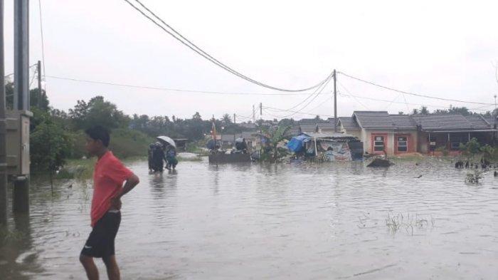 Banjir di Pekanbaru Rendam Sejumlah Pemukiman Akibat Hujan Deras Kamis Dini Hari
