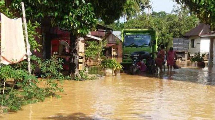 Banjir di Riau, 100 Rumah Terendam di Kuansing