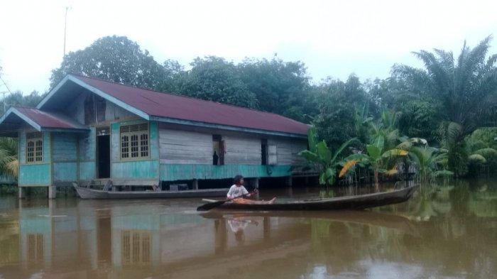 Status Siaga Darurat Bencana Banjir di Pelalawan Riau Diperpanjang, Distribusi Bantuan Terus Jalan