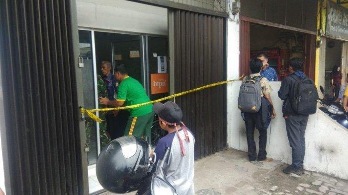 Kronologis Perampokan Bersenjata Sasar Bank BTPN di Medan