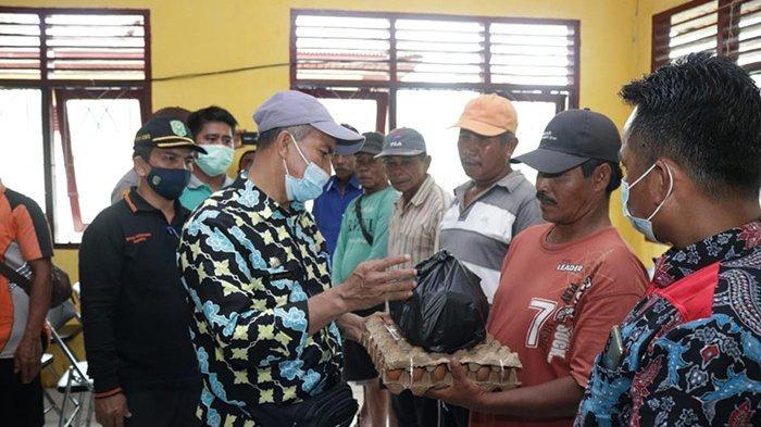 130 Rumah dan 600 Ha Sawah di Teluk Lanus Siak Direndam Banjir