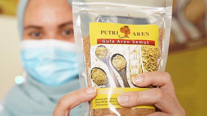 Mendapat bantuan PLN Peduli melalui PLN UIP3B Sumatera di akhir Juni lalu, kini usaha 'Putri Aren' naik dua kali lipat.