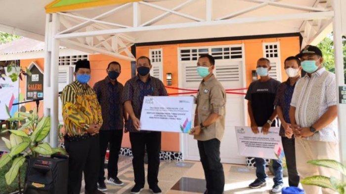 Program PLN Peduli Kembangkan Rumah Kreatif Kampung Patin dan Kawasan Wisata di Kampar