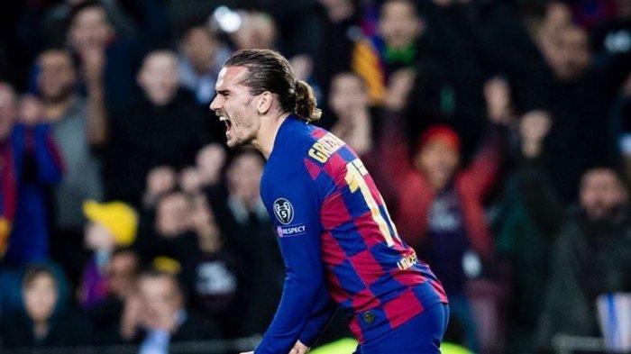 Penyerang Barcelona Antoine Griezmann