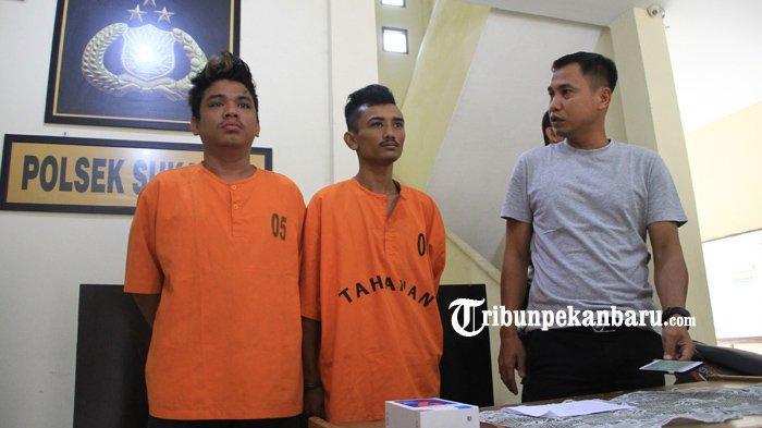 Baru Keluar Penjara, Jambret Kembali Beraksi di Pekanbaru, Korban Buru Pelaku dan Diteriaki Maling