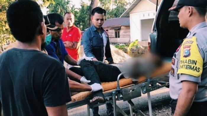 Baru Kemarin, Hari Ini Warga Inhil Riau Heboh Lagi Penemuan Mayat Tergantung di Belakang Rumah