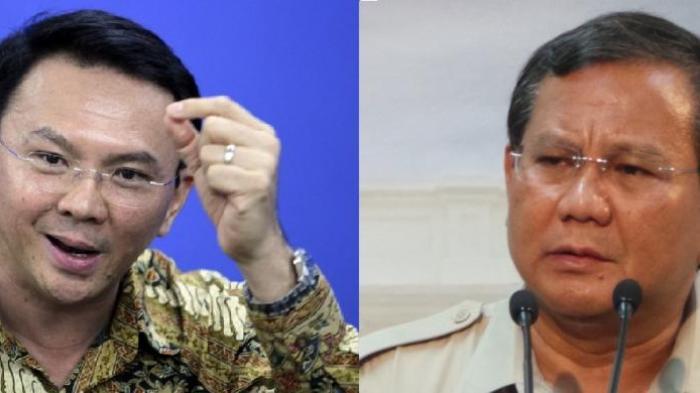 Ahok Diingatkan Soal Jasa Prabowo Saat Dia Diancam Orang-orang Pasar