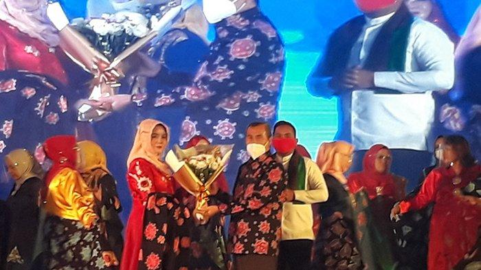Ada Motif Corona, Janda Bolong hingga Keladi, Istri Gubernur Riau Rancang Batik Riau Motif Viral