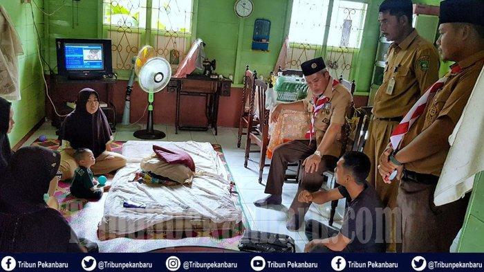 Mardiana Demam Tinggi Saat Hamil, Wabup Perintahkan Bayi Penderita Jantung Dirujuk ke Pekanbaru Riau