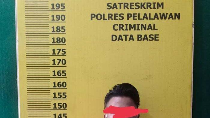 Bawa Kabur Gadis Belia Keterbelakangan Mental dari Pelalawan ke Sumut,Pria 20 Tahun Pasrah Diborgol