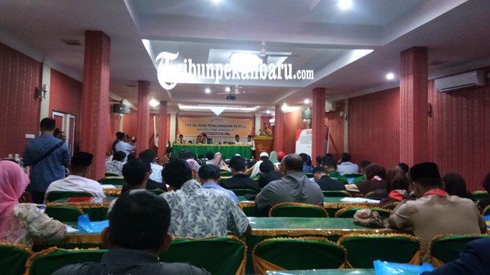 Bawaslu Bengkalis Ajak Warga Awasi Pemilu 2019, Gelar Sosialisasi Pengawasan Pemilu Partisipatif