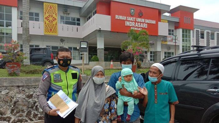 Terima Kasih Pak Polisi, Ayah Bayi Tanpa Anus Terharu Diantar Brigadir Doni Urus Operasi Sang Putri