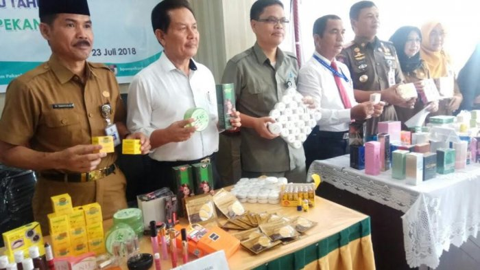 DPRD Pekanbaru Minta BBPOM Rutin Gelar Razia Kosmetik Ilegal