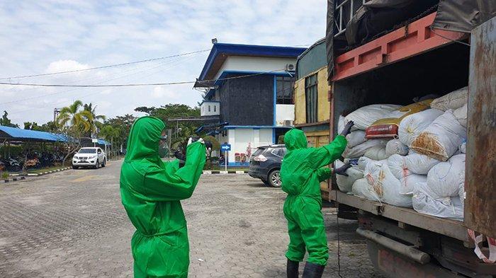 KRONOLOGI 550 Karung Sarung Tangan Bekas dan 201 Karton Obat Impor Masuk Riau Lewat Rohil