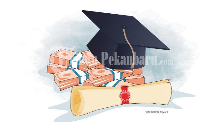 Hore! 1.210 Mahasiswa Pelalawan Terima Bantuan Pendidikan, Pemda Gelontorkan Anggaran Rp 2.4 Miliar
