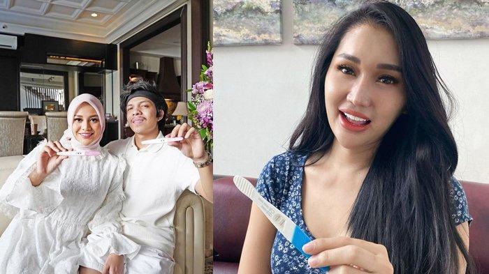 Beda Nasib, Lucinta Luna Hamil Tanpa Suami, Aurel Hermansyah Hamil Ada Suaminya Atta Halilintar