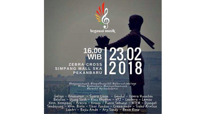 Saksikan Begawai Musik Zebracross SKA Live di Facebook Tribun Pekanbaru, Catat Jadwalnya