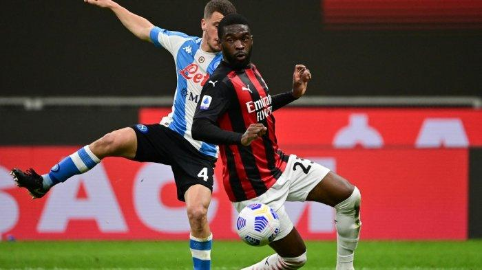 Hasil Pertandingan : AC Milan Nyaris Kalah dari Sampdoria, Klasemen Liga Italia Semakin Ketat