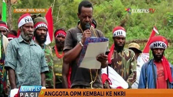 KKB Dicap Teroris, OPM Memohon ke Pengadilan Internasional, 'Papua Harus Merdeka Dari Indonesia'